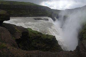 Gullfoss, Icelandic Waterfall