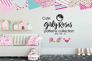 GIRLY ROSES Pattern collection