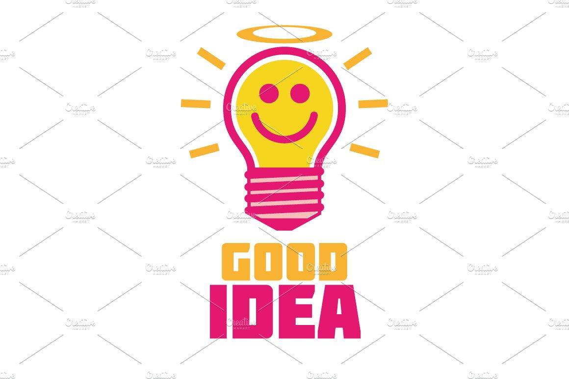 good idea logo templates creative market