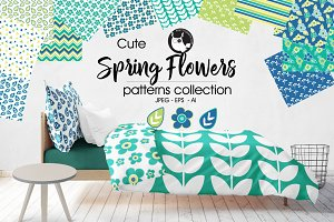 SPRING FLOWERS Pattern collection