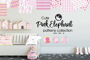 PINK ELEPHANT Pattern collection