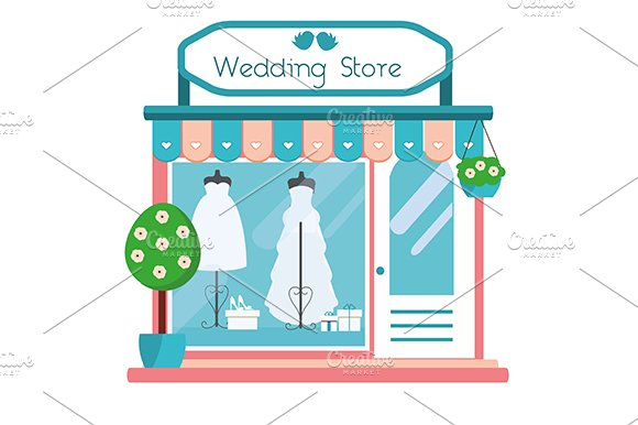 Wedding Shop Icon