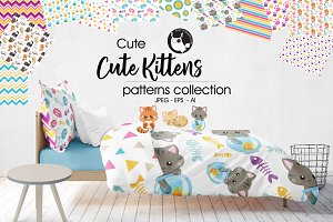 CUTE KITTENS Pattern collection