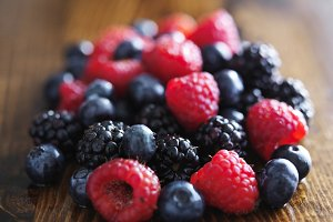 fresh berry medley