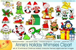 Annie's Holiday Whimsies Clipart
