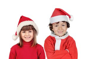 Children in Christmas