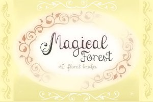 Magical Forest Brushes