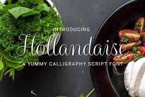 Hollandaise Script Font