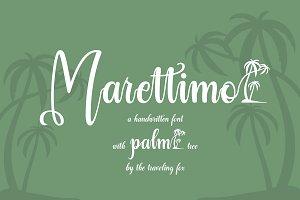 Marettimo Summer-Vibe Font