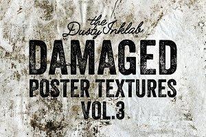 Damaged Poster Textures Vol. 3