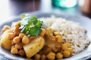 indian vegetarian curry