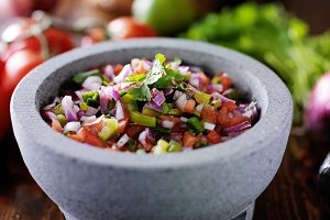 pico de gallo salsa