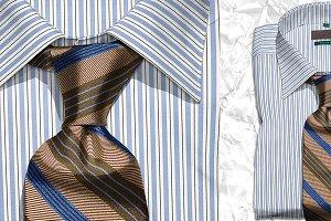 Mockup Photo Scene Shirt & Tie