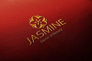 Jasmine Floral Logo