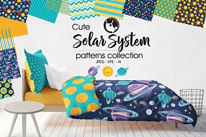 SOLAR SYSTEM Pattern collection