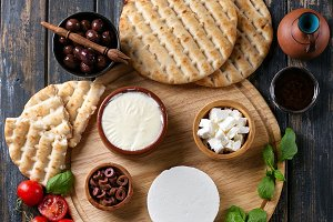 Traditional Greek Appetizer Feta