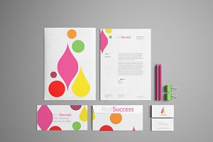 Bright Colorful Logo