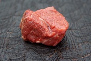Piece of tenderloin beef