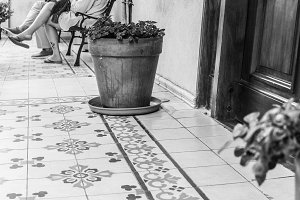 Vintage Patio Detail