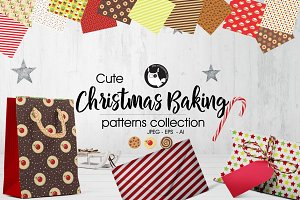 CHRISTMAS BAKING Pattern collection