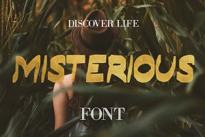 Misterious Font - 50% Off