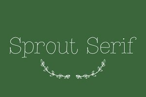 Sprout Serif
