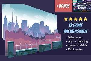 Game Backgrounds Pack III + Bonus