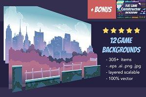 Game Backgrounds Pack III + Bonus
