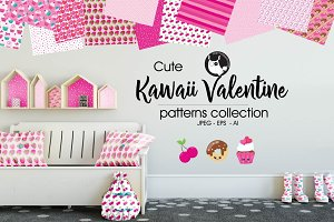 KAWAII VALENTINE Pattern collection