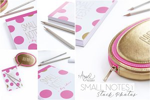 "5 Stock photos ""SMALL NOTES1"""