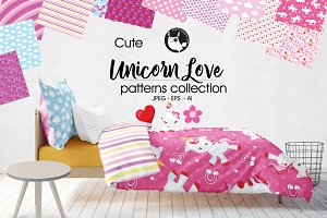 UNICORN LOVE Pattern collection