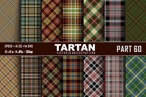 Seamless  Tartan Pattern Part - 60