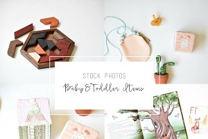 Baby & Toddler Items Photo Bundle