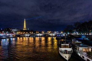 Eiffel Tower - Seine River
