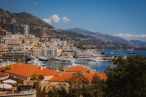Mountains in Monaco