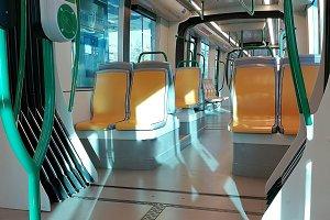 Empty interior underground