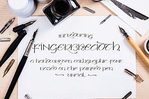 Fingerbreadth Font