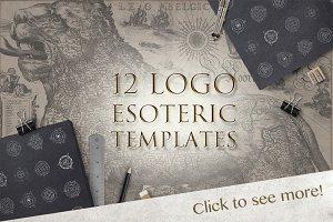 12 Esoteric Logo Templates
