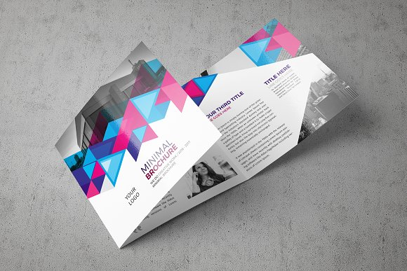 Abstract Square Brochure-Graphicriver中文最全的素材分享平台