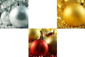 Holiday Ornament 3 Pack