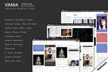 Vania - Responsive WordPress Theme