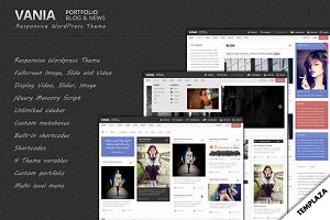Vania - Responsive WordPress Theme