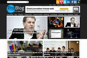 ProBlog Professional Blogging Theme