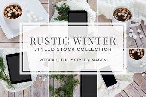 Rustic Winter Stock Photo Bundle