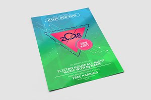 New Year Flyer Template V670
