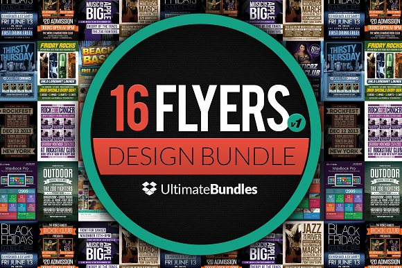 Ultimate Flyer Design Bundle V1