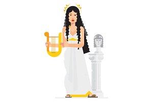 Greek goddess.