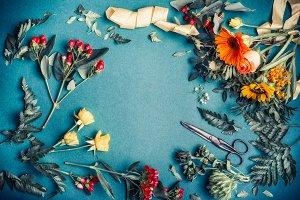 Florist work space