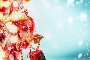 Joy Christmas background