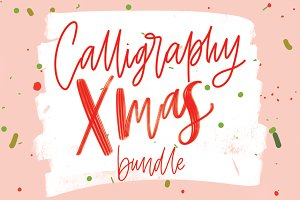 Christmas Calligraphy Bundle